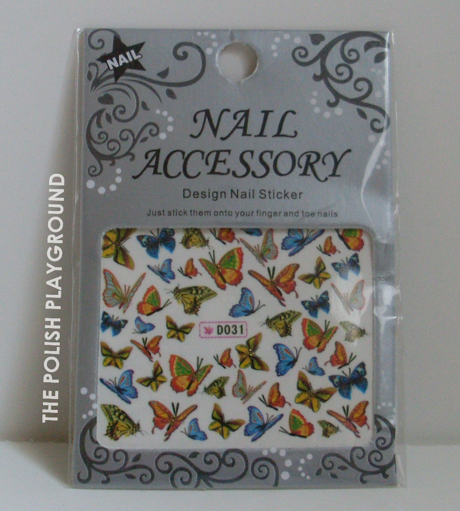 Born Pretty Store Butterfly Water Nail Decals