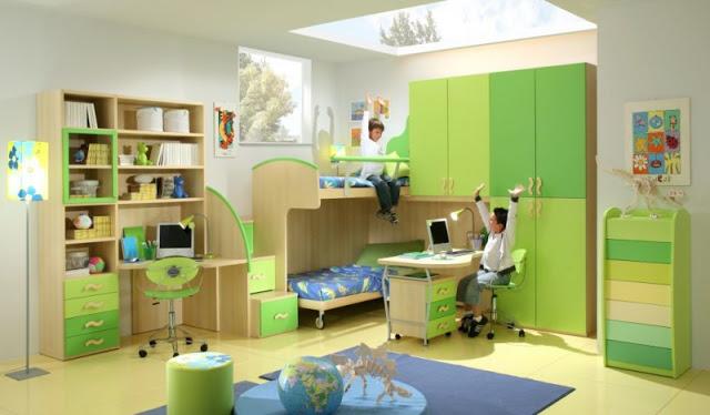 Rangement pour chambre enfants id es d co pour maison moderne - Rangement chambre enfants ...