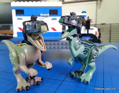 Jurassic World LEGO Raptor set 75917 review