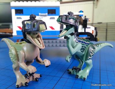 Jurassic World LEGO Raptor set 75917 review