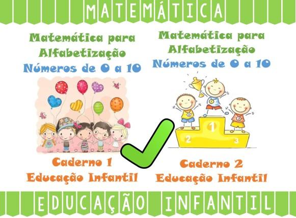 Atividades de Matemática para Educação Infantil Números de 0 a 10