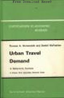 Download Urban Travel Demand: A Behavioral Analysis Book