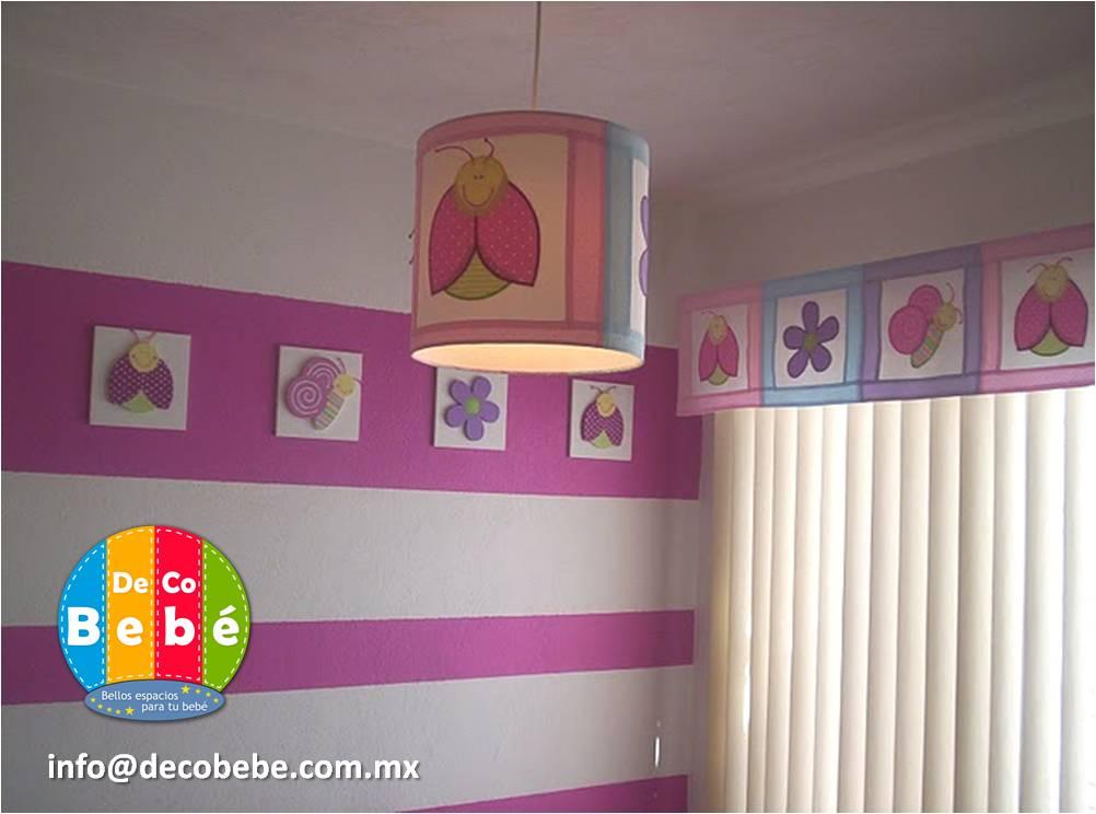 Deco Bebe Edredones para Cuna México: Galeras, lámparas, cenefas en MDF