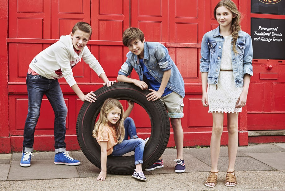 pepe jeans london kids spring  summer 2014 campaign