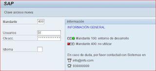 Resultado Logon SAP