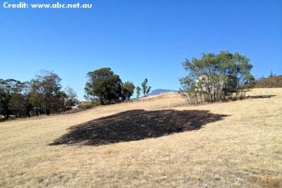 Mysterious Light Blamed for Circle of Fire - Tasmania 3-2-13