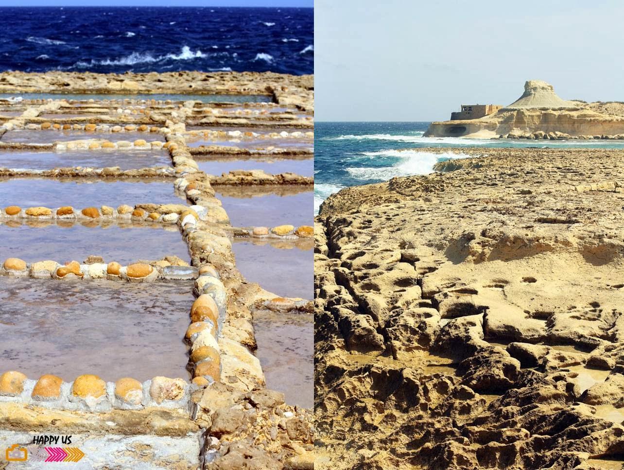 Malte - Gozo - Salines