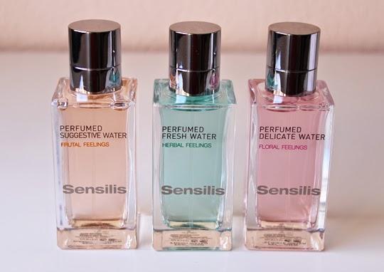 Aguas perfumadas de Sensilis