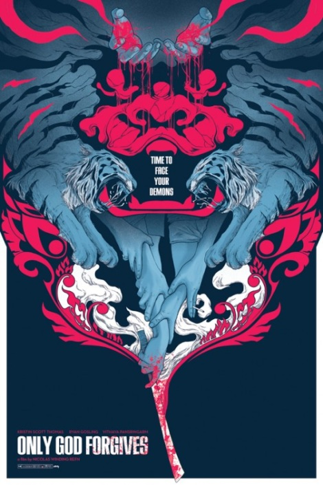 Only God Forgives Graphic Art Poster