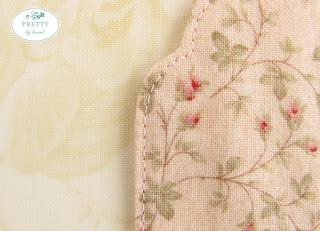 Etiquetas natalinas de tecido passo a passo