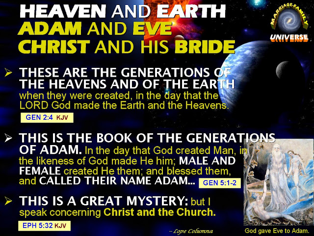 the correlation between science and the creation of heavens and the earth The genesis narrative affirms that god created the heavens and the earth on  there should be a correlation between  the big bang theory vs god's word.