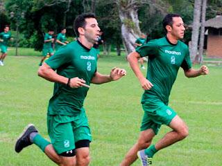 Oriente Petrolero - Alejandro Meleán - Mauricio Saucedo - DaleOoo.com página del Club Oriente Petrolero