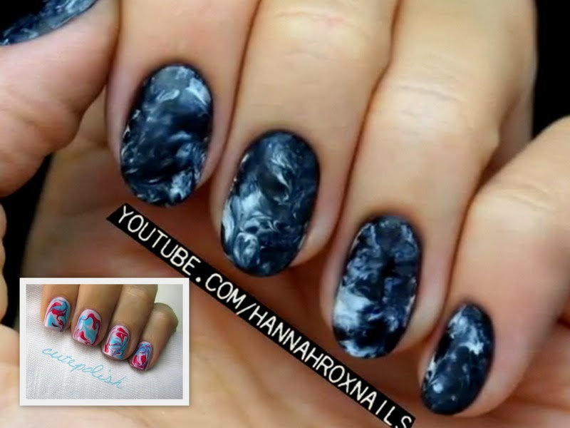 Video Of The Week: Marble Nails