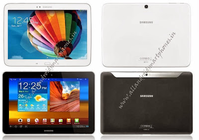 Samsung Galaxy Tab 3 10.1 P5220 4G Tablet Black White Front Back Image & Photo Review