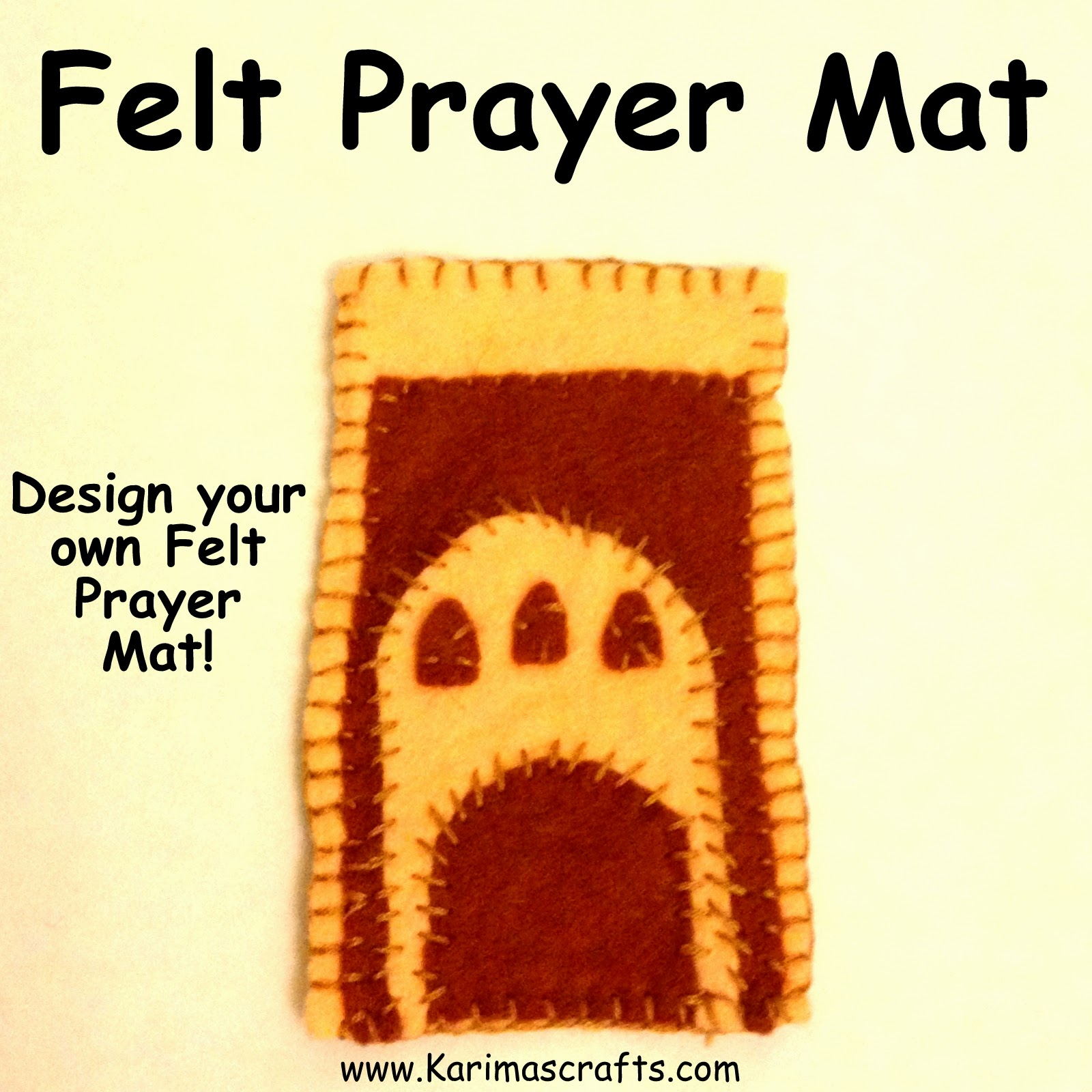 prayer mat crafts Ramadan Islamic Muslim