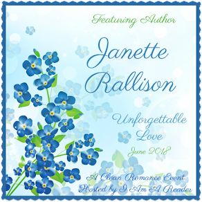 Unforgettable Love featuring Janette Rallison – 19 June