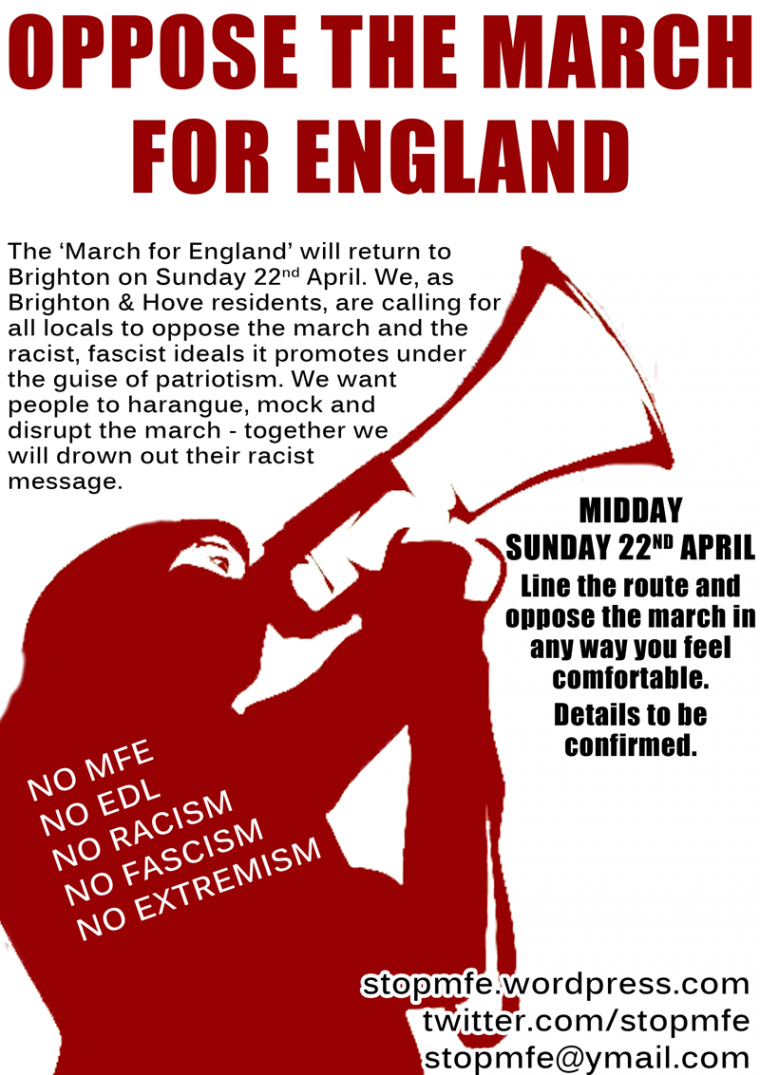 Drawing Lines Against Racism And Fascism : Pompey against the nazis april