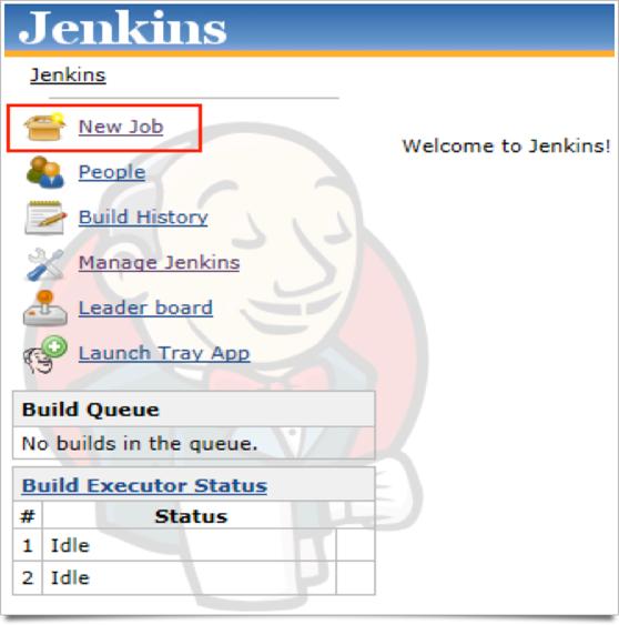 Create New Job in Jenkins Localhost