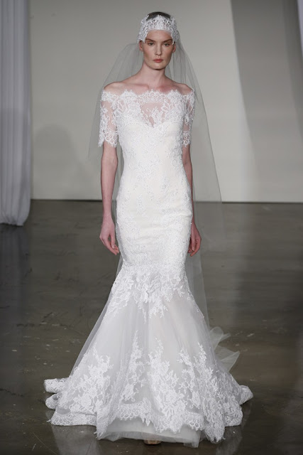 DressyBridal 2014 Wedding Gowns New Trends Part 1 Lace Off Shoulder