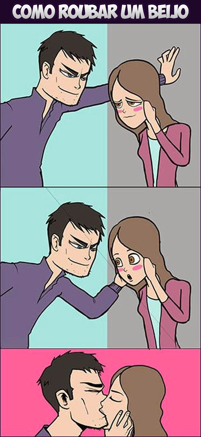 Dica de Como roubar um beijo