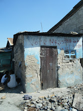 HAITI: Example of the damage to the home in Cite Soleil from the Earthquake in January 2010
