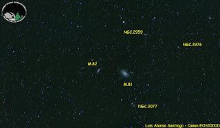 Región de M81/M82