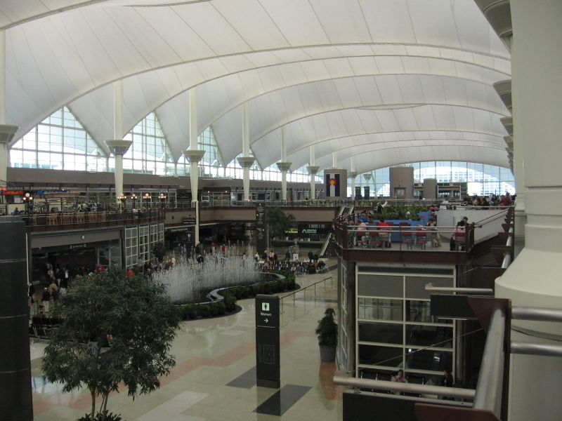 Aeroporto Denver : Aeroporto internacional de denver além da imaginação