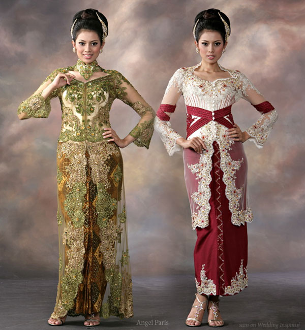 Indonesian Wedding Dresses Wedding Style Guide