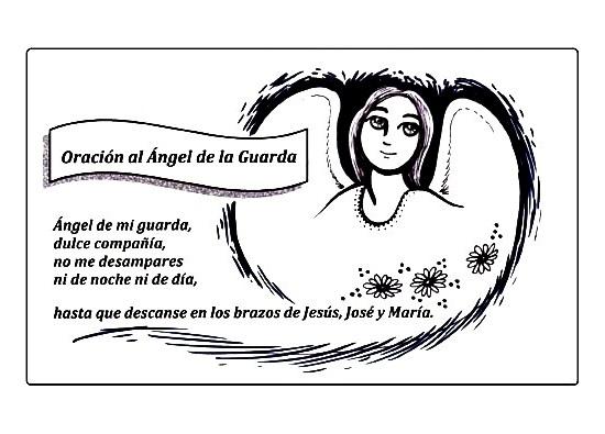 El Rincón de las Melli: Oración al Ángel de la guarda