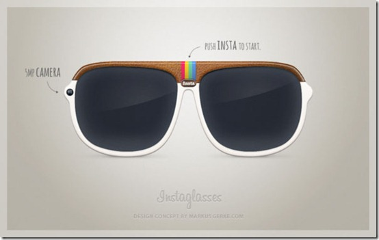 Instaglasses Design Concept Instagram Camera Glasses