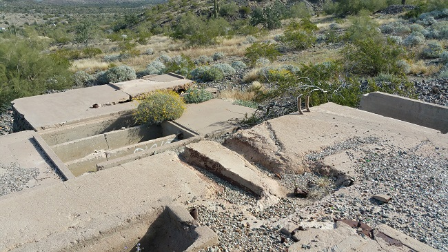 urban exploration of Max Delta Mine in Phoenix, Arizona