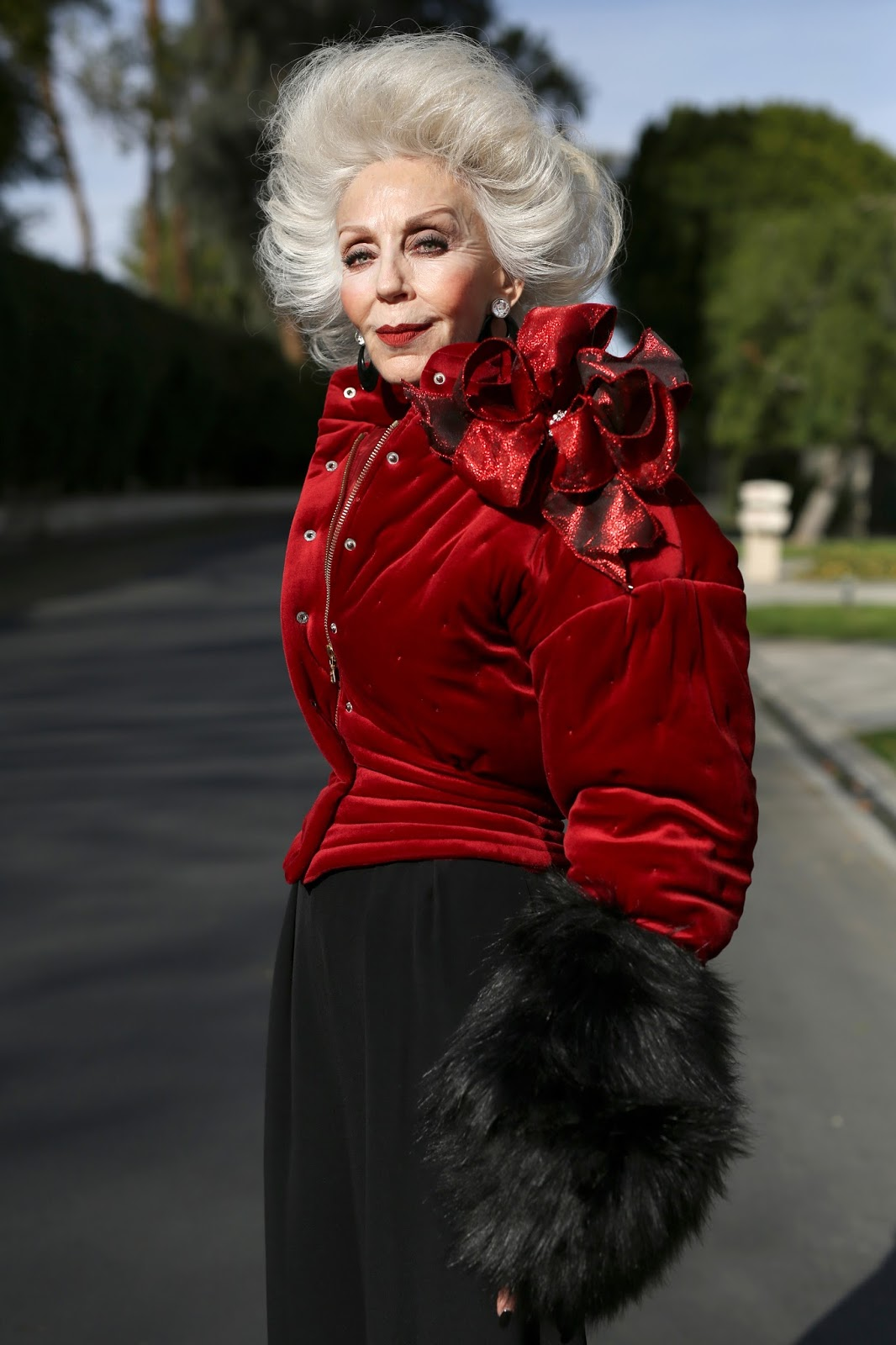 Streetstyle cực chất của những fashionista bô lão ảnh 4
