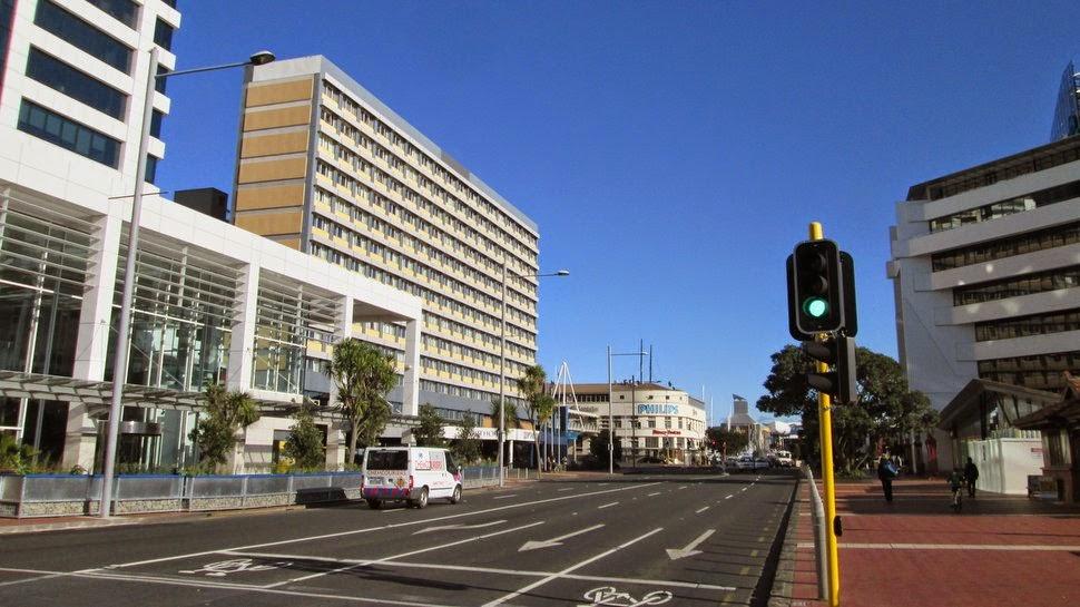 Quay Street Auckland NZ