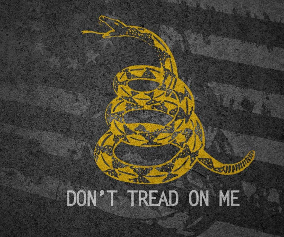 world central wallpaper don t tread on me