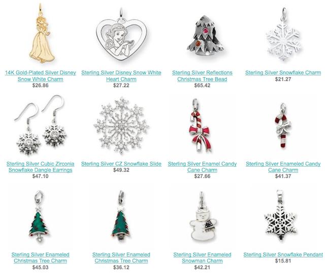 Christmas Jewelry Items