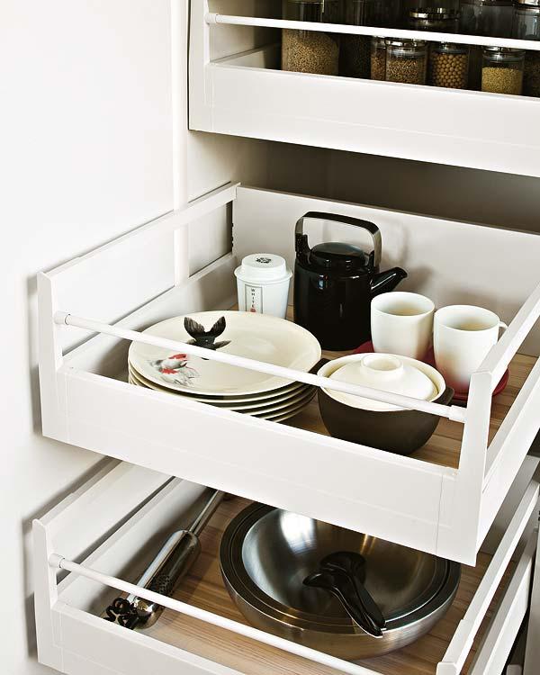 Novak manitas ideas para organizar mejor la cocina for Organizar cajones cocina