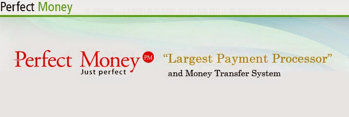 send and receive payments with perfectmoney