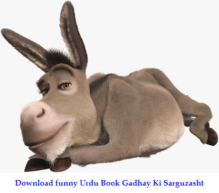 Download funny Urdu Book Gadhay Ki Sarguzasht