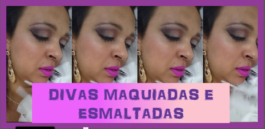 DIVAS MAQUIADAS E ESMALTADAS