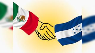 banderas Mexico Honduras