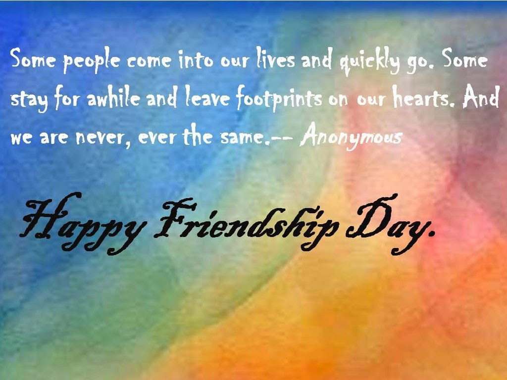 Happy Friendship Day Wishes Quotes Wallpapers - HD Wallpaper Pictures