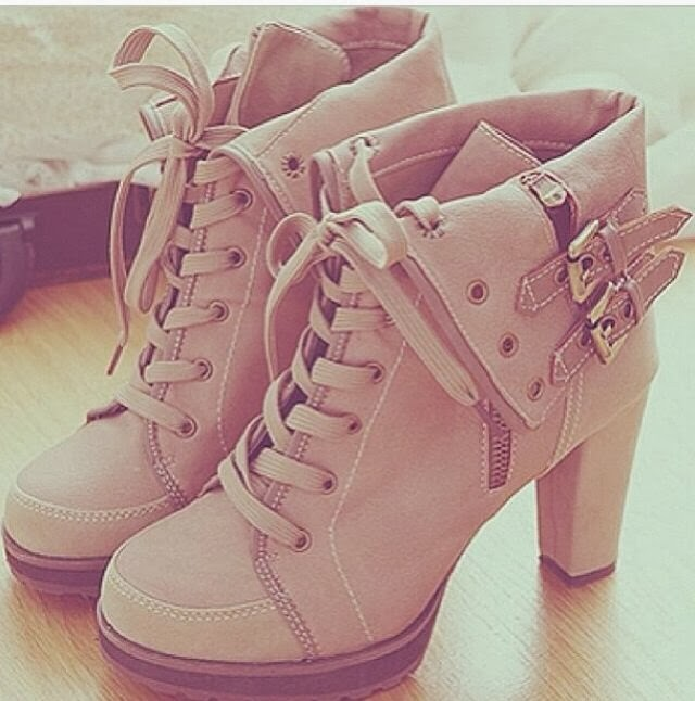Beautiful and Charming Beige Boots for Winter and Autumn, Love It