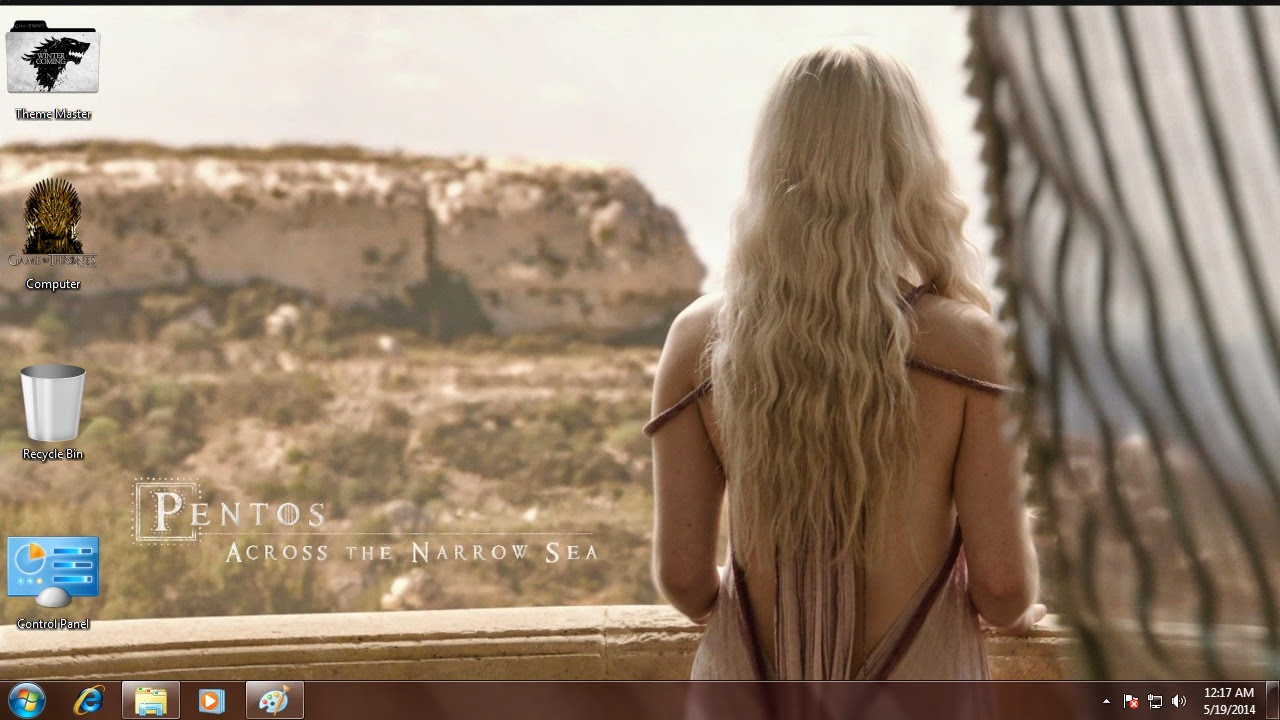 Free Game of Thrones Windows Theme