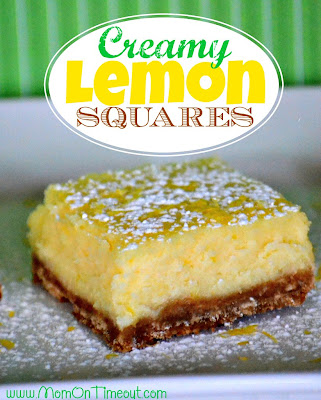 Creamy Lemon Bar Recipe