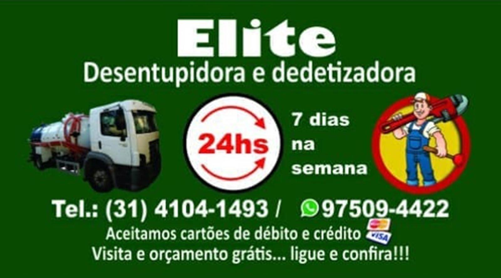 ELITE DESENTUPIDORA DEDETIZADORA BH
