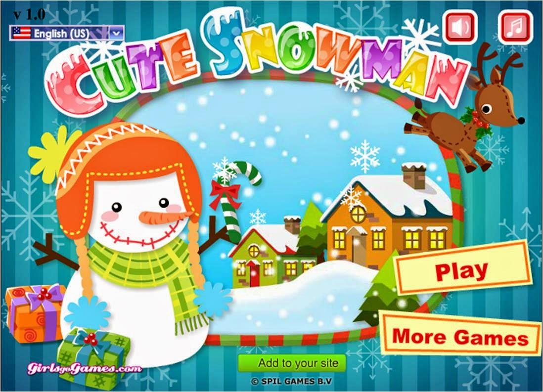 Γλυκούλης χιονανθρωπάκος!
