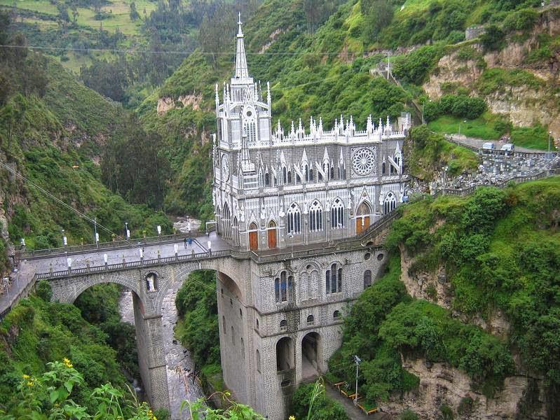 Santuario de Las Lajas - Ipiales (Colombia)