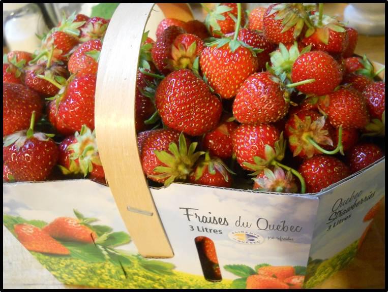 Savoir faire conserver panier de fraise nostalgie - Comment cueillir des fraises ...