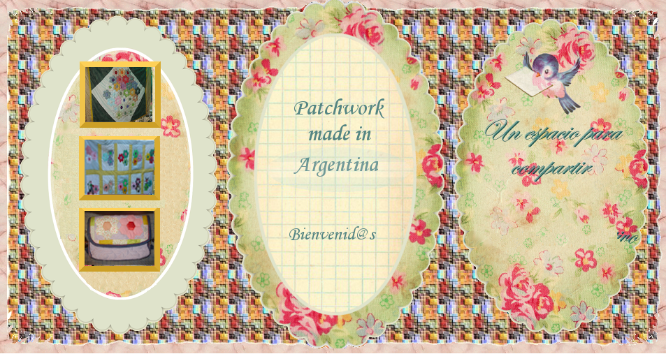 Patchwork made in Argentina