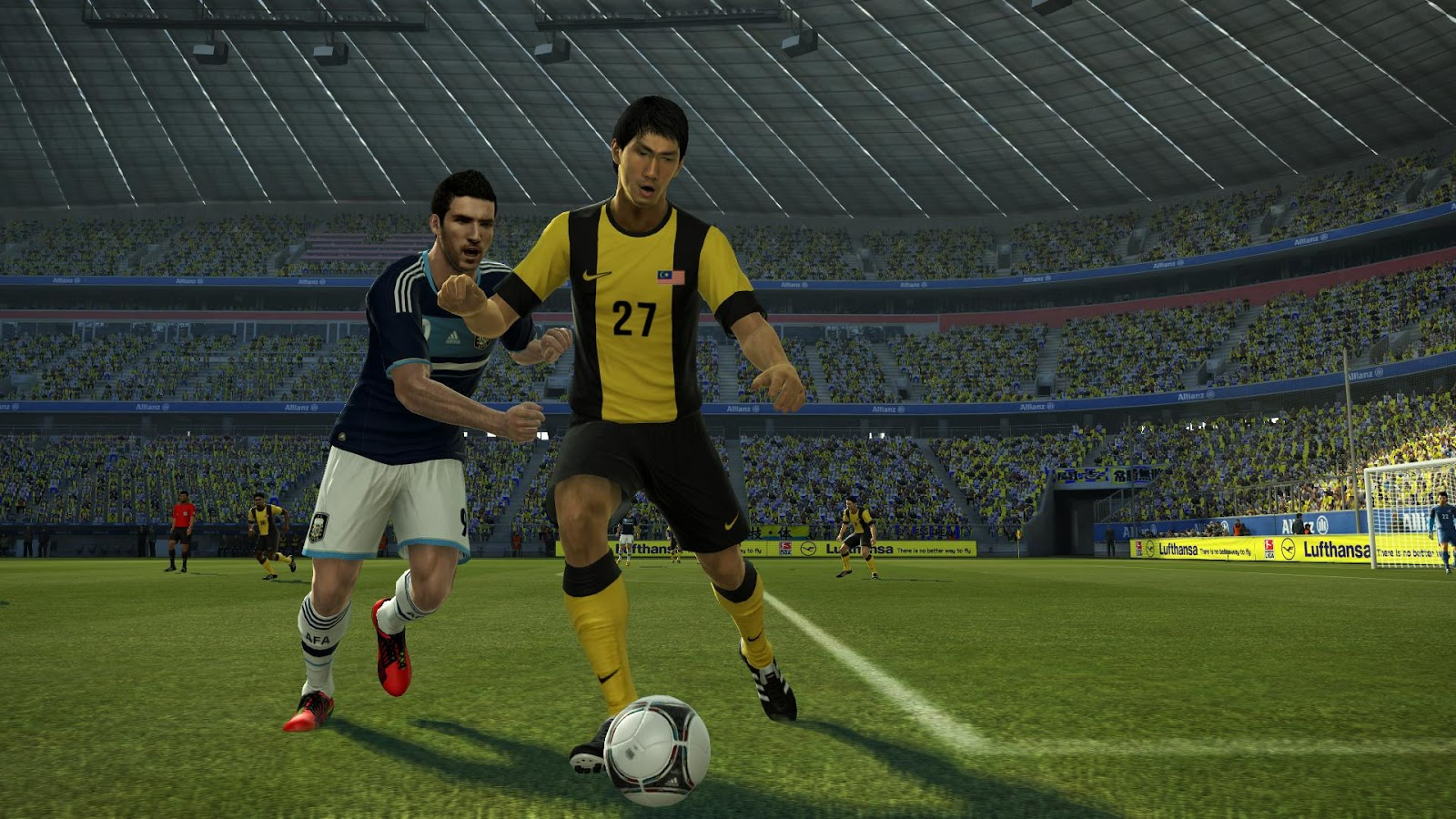 Pes 13 malaysia team patch